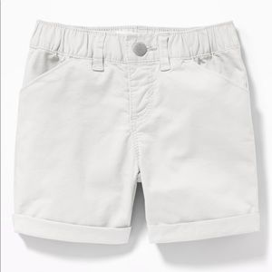 NWT Old Navy Girls White Shorts Size 2T